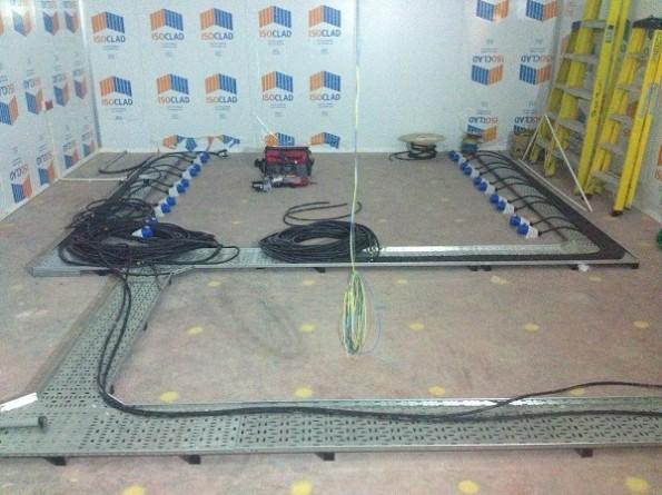 Data Centre Electrical Installation Progress