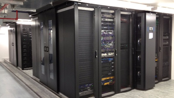 A Modern Data Centre With In Rack Cooling