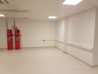 Fire Suppression System & Finished Trunking