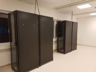 Completed Data Cabinets