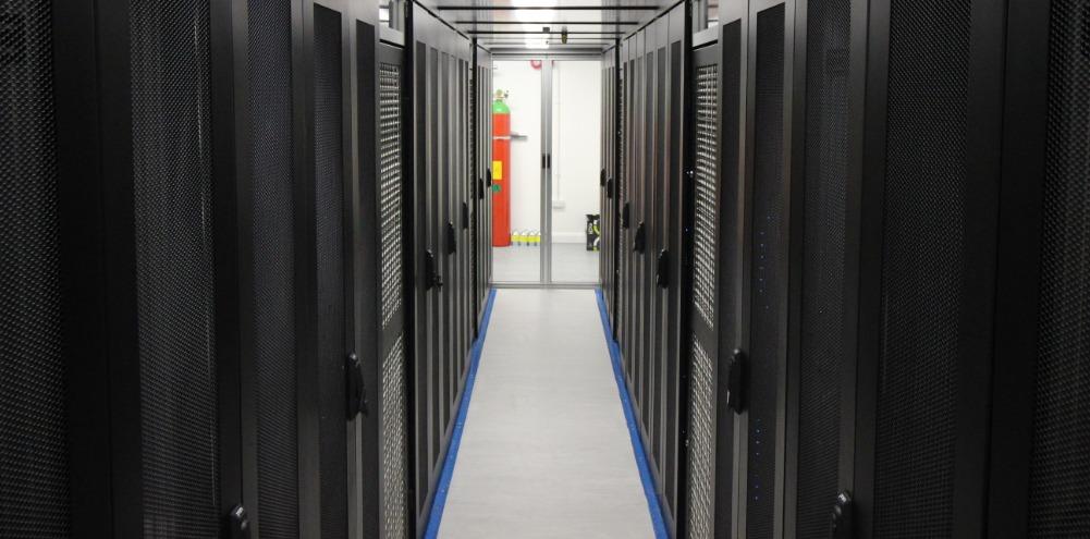 Data Centre Servers Hallway