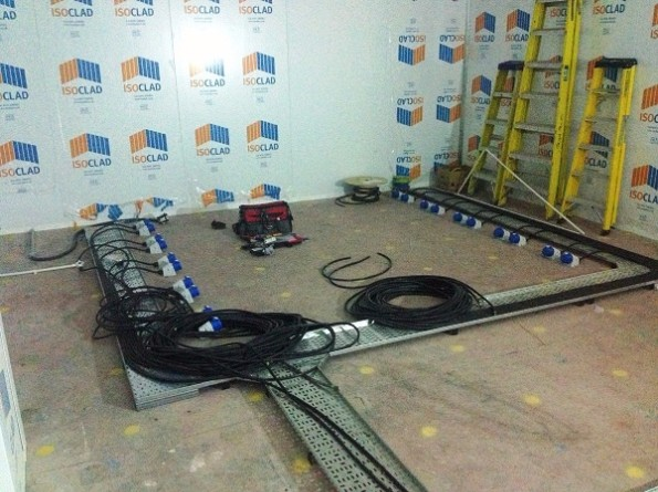 Installation Of Data Centre Electrical Components