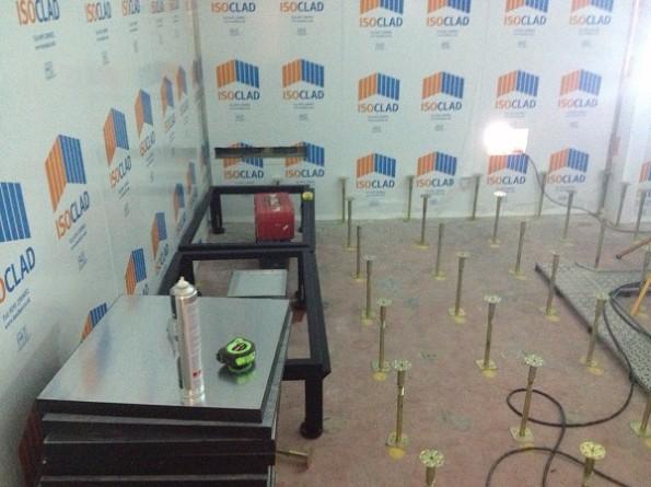 Data Centre Build Raised Floor Tiles