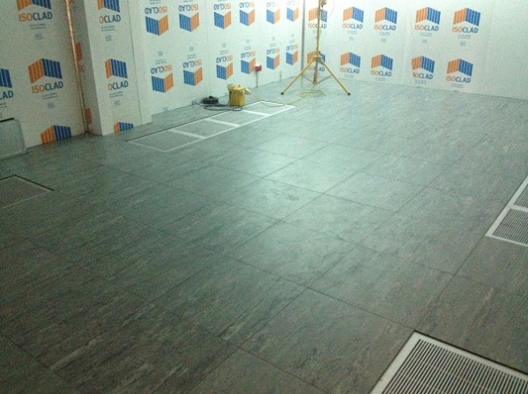 Data Centre Completed Raised Floor