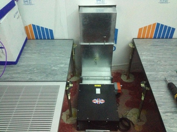 Data Centre Installation Gas Extract Fan
