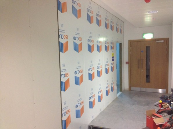 Finished Data Centre Build Composite Walling