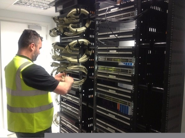 Data Centre Patch Cabling Installation