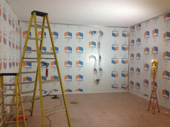 Data Centre Composite Walling, Securiclad Option