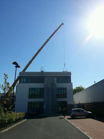 120 Tonne Crane Bending