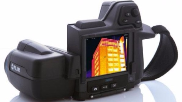 A Data Centre Thermal Imaging Camera