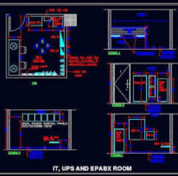 Full Server Room Design Planning Services