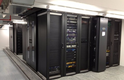Next Generation Data Centre Design and Build Showing In Rack Cooling Systems
