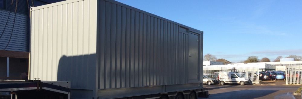 Container Data Centre Project