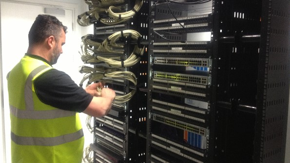 Maintenance of Comms Rack Cabling
