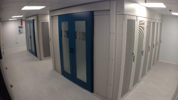 New Build Data Centre Server Room