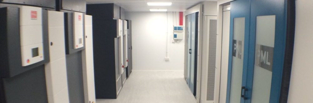 A Very High Density Data Centre Construction Project