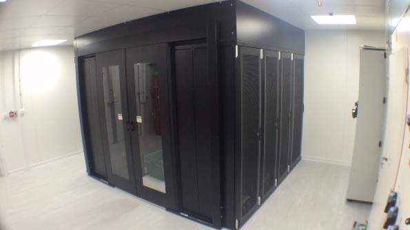 Micro Data Centre Design and Build Project