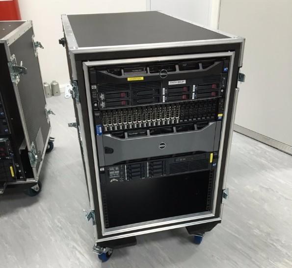 Data Centre Server Undergoing Migration